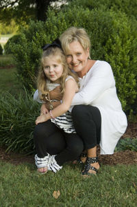 Lillie and granddaughter
