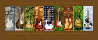 Guitar Show Poster Brown