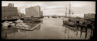 Fort Point Channel, Congress Bridge, South Boston, MA, 1984